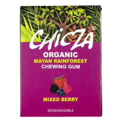 Chicza organic chewing gum mixed berries - 30g