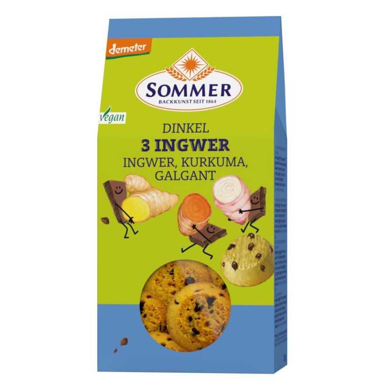 Summer - Demeter spelt-3 ginger -150g