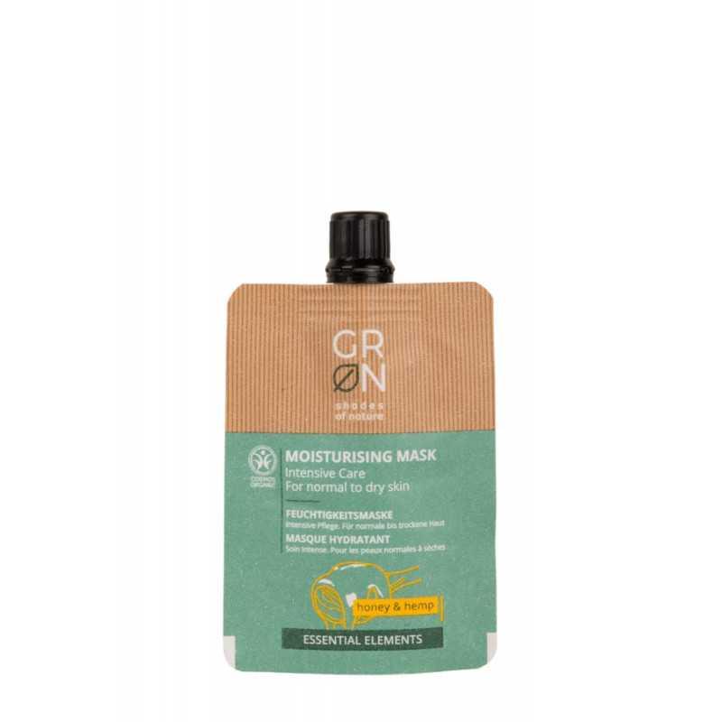 GRN - moisture-mask-honey & hemp - 40g