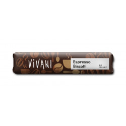 Vivani Espresso Biscotti bares - 40g
