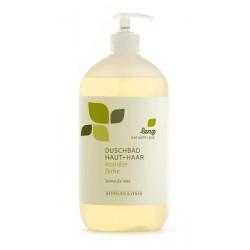 lenz - doccia pelle & capelli, camomilla, betulla - 950ml