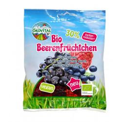 Ökovital - orgánica bayas frutas 80g