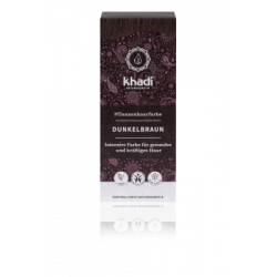 Khadi - Dunkelbraun - 100g