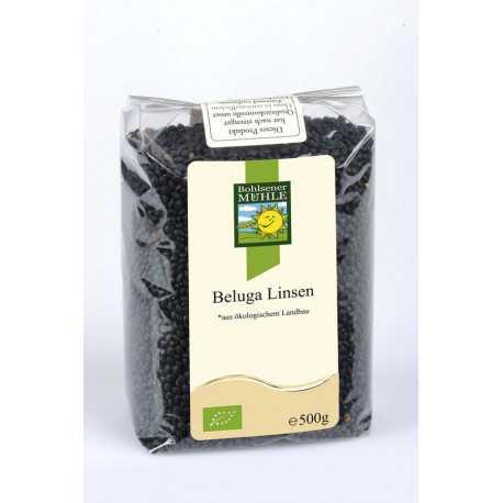 Bohlsener Mühle - Beluga lentils (black) - 500g