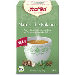 Yogi Tea - Natürliche Balance - 17 Teebeutel