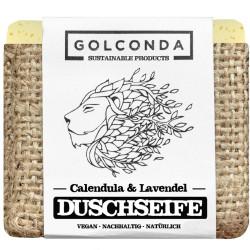 Golconda - Shower Soap Calendula & Lavender - 65g