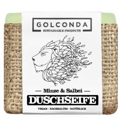 Golconda - Duschseife Minze & Salbei - 65g