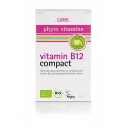 GSE - Vitamin B12 Compact (Bio) - 120 tablets
