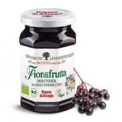 Rigoni di Asiago - elderflower & berry fruit spread - 250g