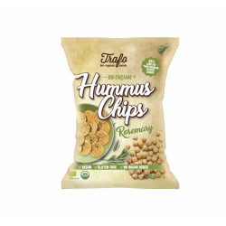 Trafo - Hummus Chips Rosemary - 75 g