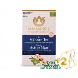 Maharishi Ayurveda - organic tea for men - 15 bags