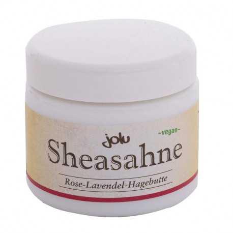 Jolu - Shea Cream Rose-Lavender-Rosehip - 100g