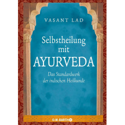 Vasant Lad - Self-healing with Ayurveda book