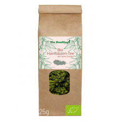 die Hanflinge - organic hemp blossom tea Earlina - 25g