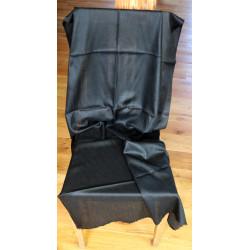 Miraherba - Original cashmere / silk scarf black