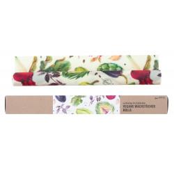 Little Bee Fresh - vegane Wachstuch-Rolle Gemüse - 0,7m