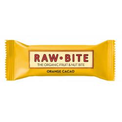 RAW BITE - Barre crue à l'orange et au cacao - 50 g