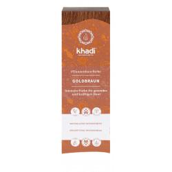 Khadi - Pflanzenhaarfarbe Goldbraun - 100g