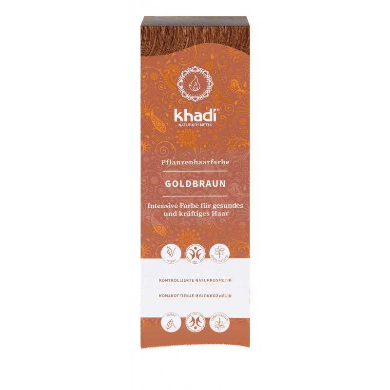 Khadi - herbal hair color golden brown - 100g