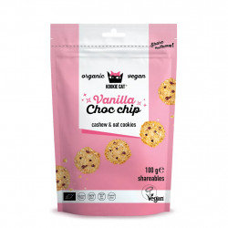 Kookie Cat - Mini Cookies aux Pépites de Chocolat Vanille - 100g