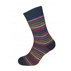 Deer nature - striped sock...