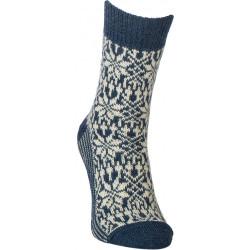 Deer nature - Norwegian star socks marine nature - 1 pair