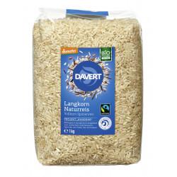Davert - long grain brown rice, whole grain - 1kg