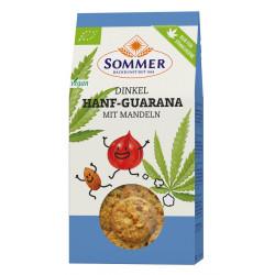 Summer - spelled hemp guarana with almonds -150g