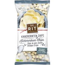 De Rit - Chickpea Chips Sea Salt - 75g