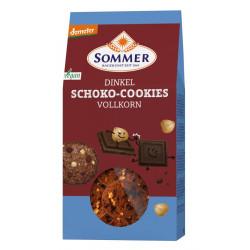 Été - biscuits au chocolat à l'épeautre, vegan - 150g