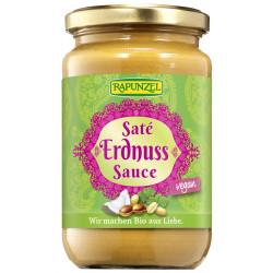 Raiponce - sauce saté aux arachides - 350ml