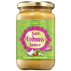 Rapunzel - saté peanut sauce - 350ml