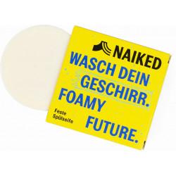 Naiked - solid washing-up liquid washing-up soap citrus - 80 g