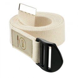 AKO Yoga - Yoga Belt OM - natural white