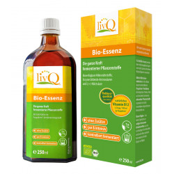 livQ - organic essence, pure and intense - 250ml