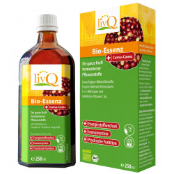 livQ - Organic Essence with Camu Camu - 250ml