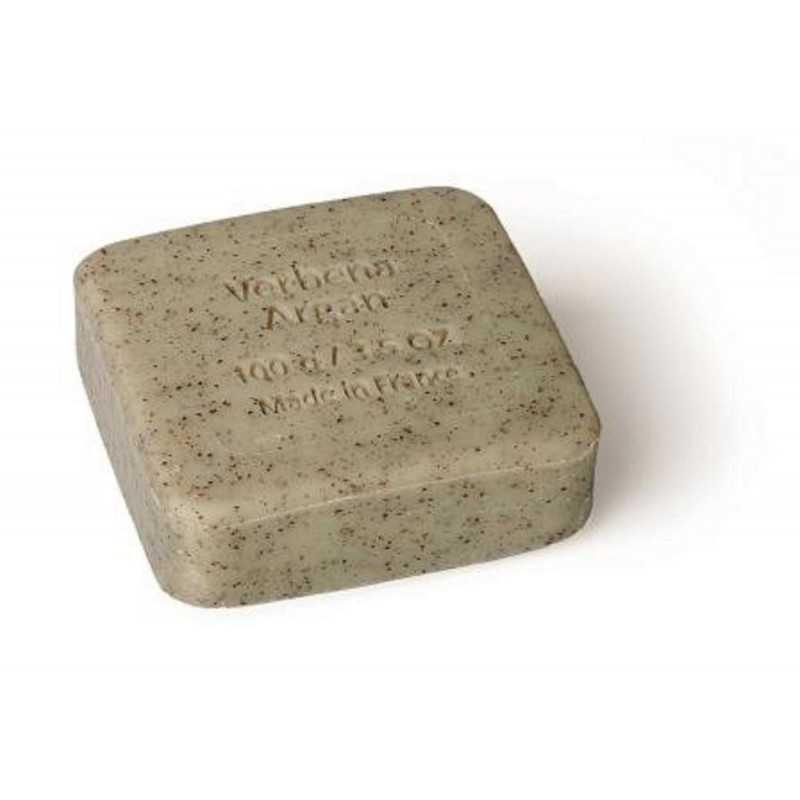Savon du Midi - Argan Oil Peeling Soap Verbena - 100g