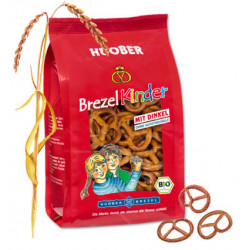 Huober - pretzel children spelled without salt - 125g