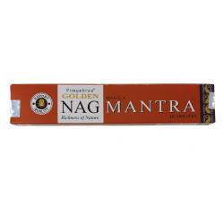 Vijayshree - Bâtonnets d'encens Golden Nag Mantra - 15g