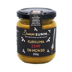 Summ SUMM - Curcuma et cannelle au miel - 250g