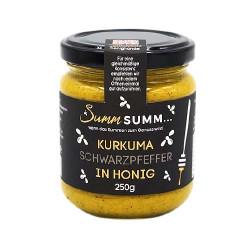 Summ SUMM - Kurkuma Schwarzpfeffer in Honig - 250g