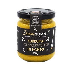 Summ SUMM - turmeric black pepper in honey - 250g