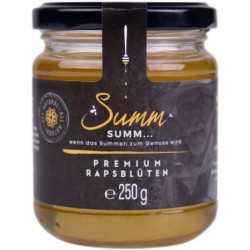 Summ SUMM - Premium Rapsblüten Honig - 250g