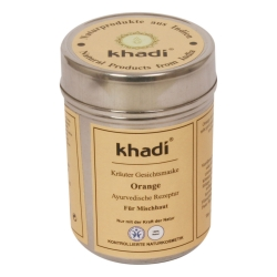 Khadi - Gesichtsmaske Orange - 50 g