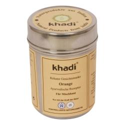 Khadi - Maschera di protezione di Arancia - 50 g di