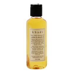 Khadi - Sandelholz Massage Öl - 210 ml