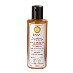 Khadi - de Neem, de Pamplemousse, de Douche et de Badegel - 210 ml