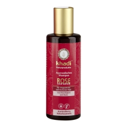 Khadi - Rose Repair Shampoo - 210 ml