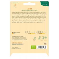 Bingenheimer Saatgut - Spinaci Verdil - 25g