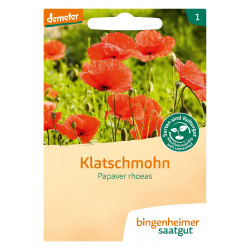Bingenheimer Saatgut - Klatschmohn - 0,3g